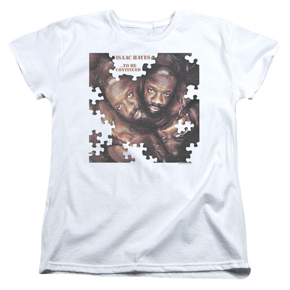 Isaac Hayes - To Be Continued Short Sleeve Women's Tee