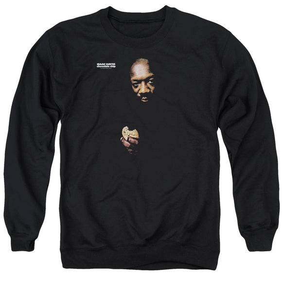 Isaac Hayes - Chocolate Chip Adult Crewneck Sweatshirt