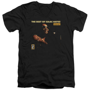 Isaac Hayes - Chain Vest Short Sleeve Adult V Neck 30/1
