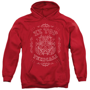 Zz Top - Texicali Demon Adult Pull Over Hoodie