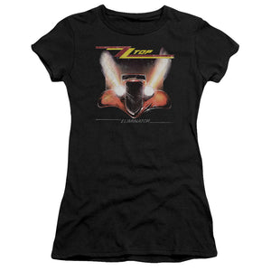Zz Top - Eliminator Cover Short Sleeve Junior Sheer