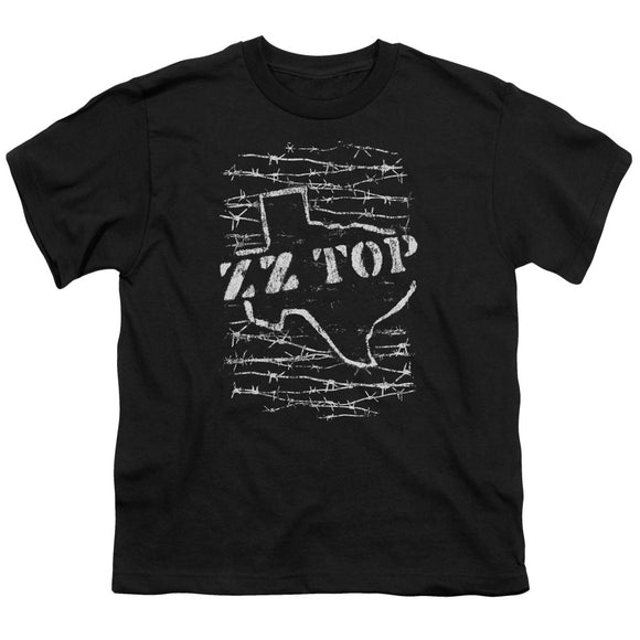 Zz Top - Barbed Short Sleeve Youth 18/1