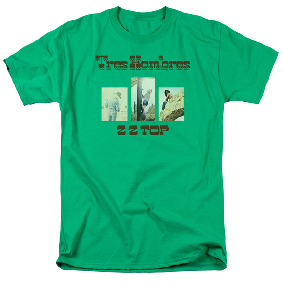Zz Top - Tres Hombres Short Sleeve Adult 18/1