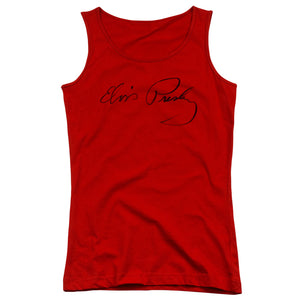 Elvis - Signature Sketch Juniors Tank Top