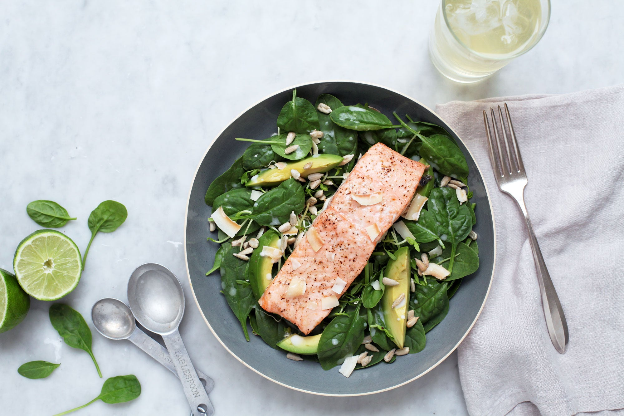 Coconut Lime Roasted Salmon