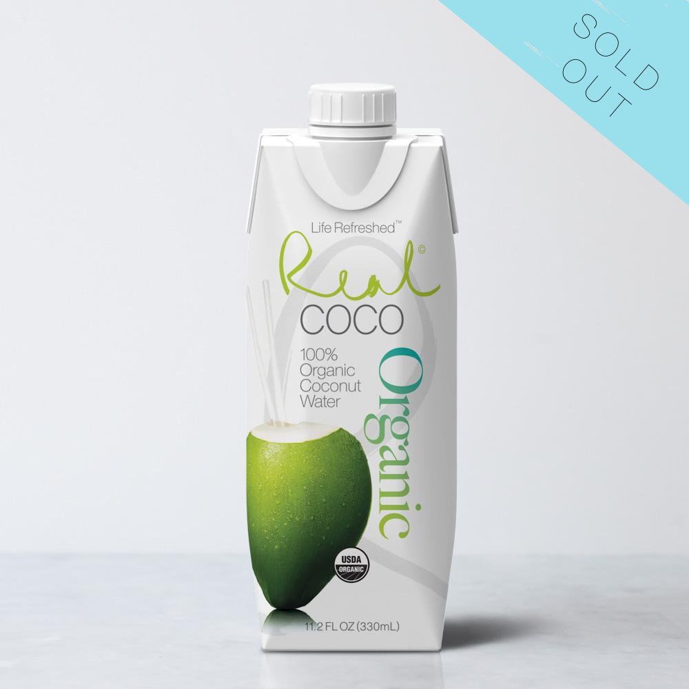 Organic Pure Coconut Water (330ml - 12 Pack)