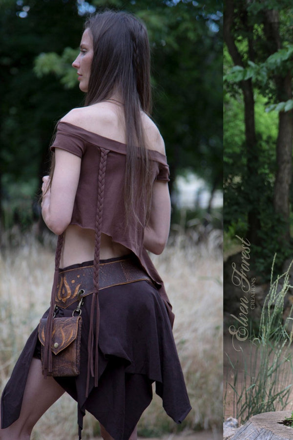 Asymmetrical Elven Top - Sleeves as long as you want them