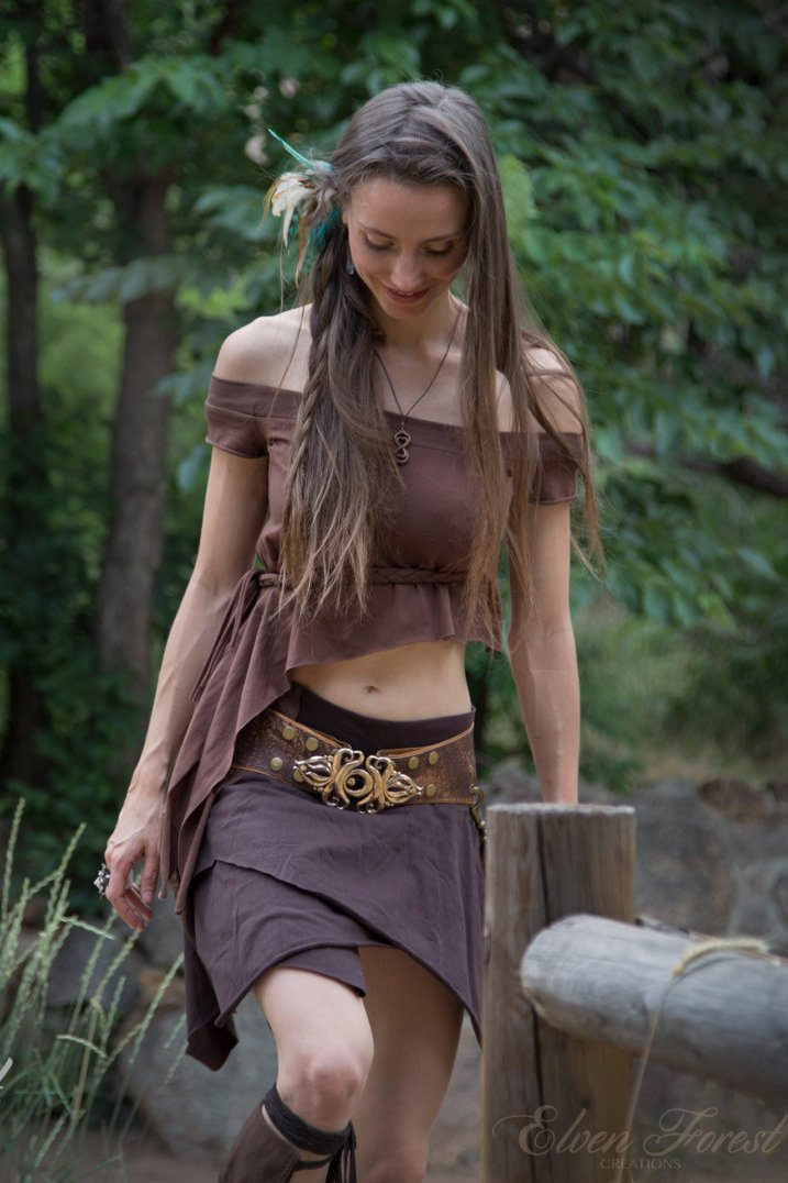 Asymmetrical Elven Top