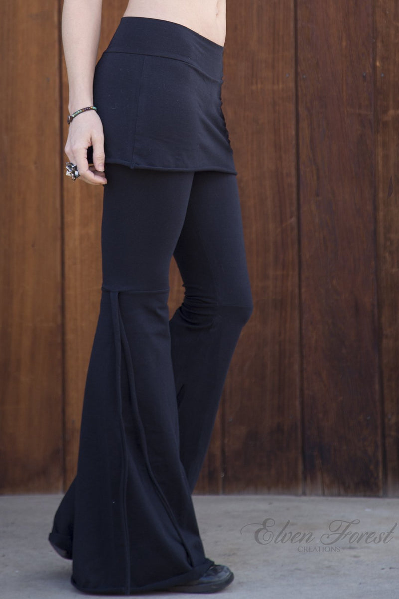 Athena Tie-Up Pants with skirt