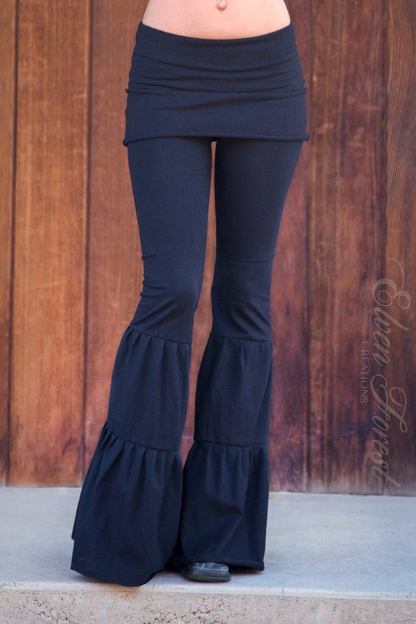 Zumi Flow Pants with triple tiered flares