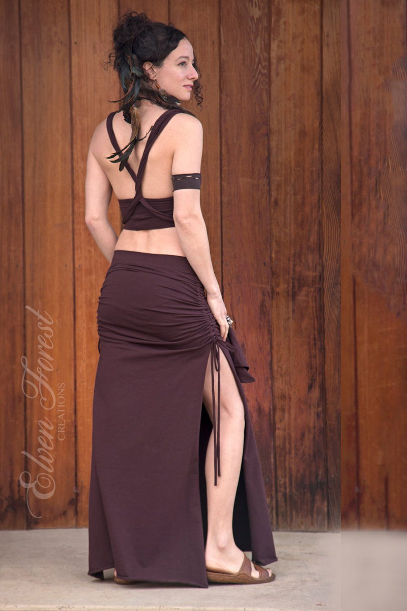 Anahata Skirt and top Dress Set