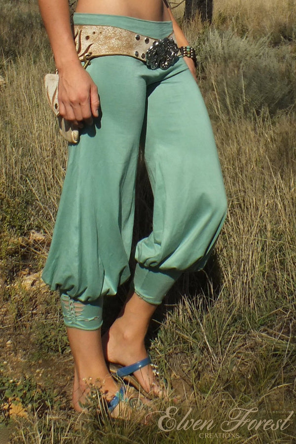 Persian Yoga Harem Pant with Braided Ankle