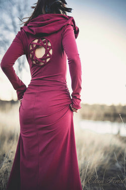 Kaleidoscope Dreamcatcher Long Sleeved Dress