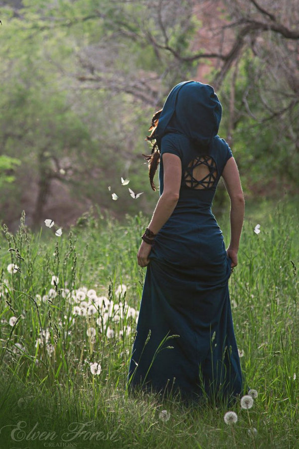 Kaleidoscope Dreamcatcher Dress ~ Casual Version ~ Elven Forest, Festival clothing