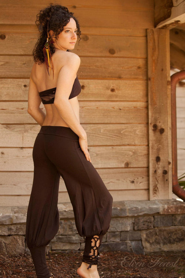 Lace Up Yoga Harem Pant