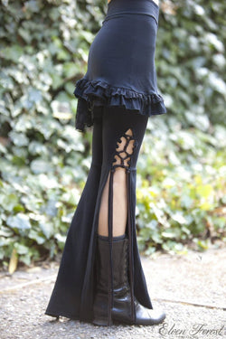 Tassel Lace Up Dance Pants