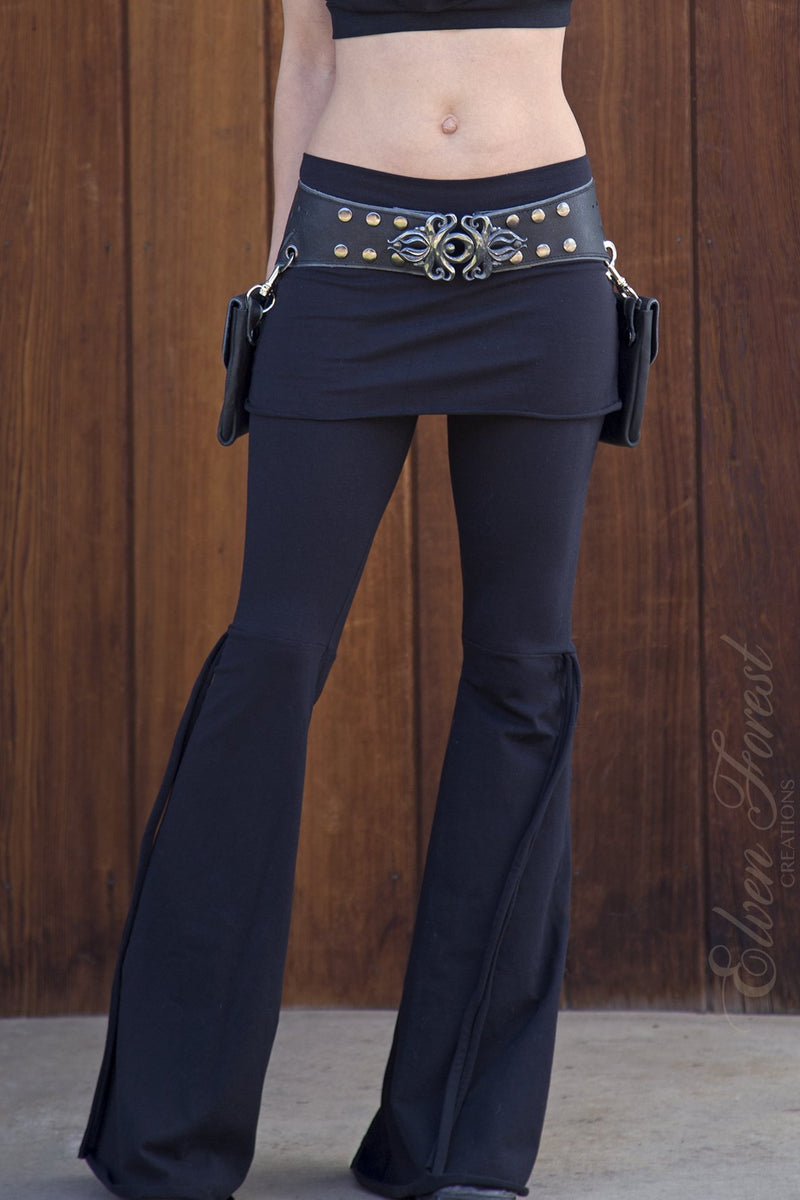 PREMADE Collection: Athena Tie-Up Pants with skirt