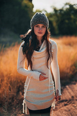 Thermal Hoodie Dress
