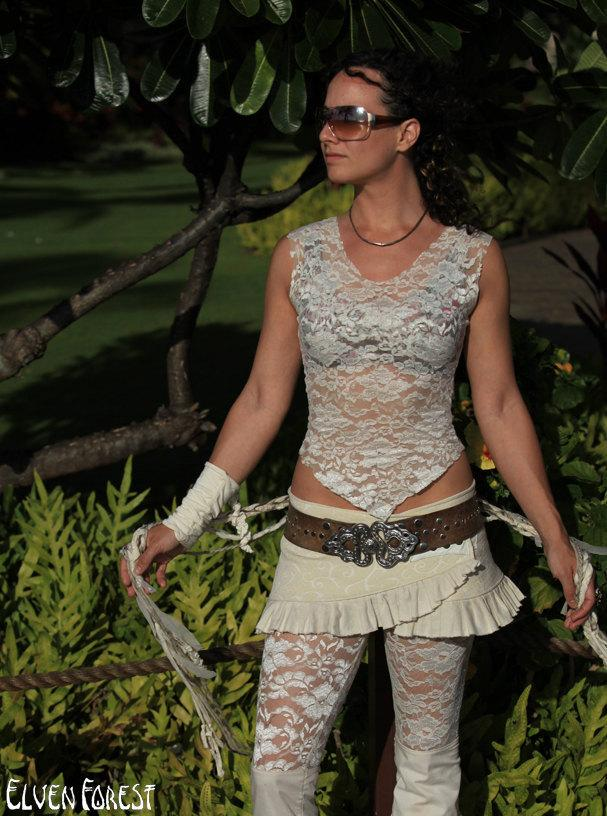 Mesh or Lace Faery Undershirt