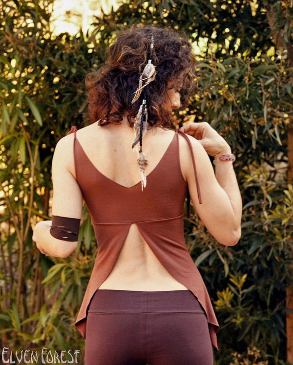 Elven Pixie Tank Top ~ Elven Forest, festival clothing, faerie top