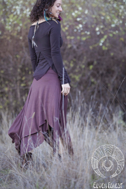 PREMADE Collection: Long Pixie Skirt