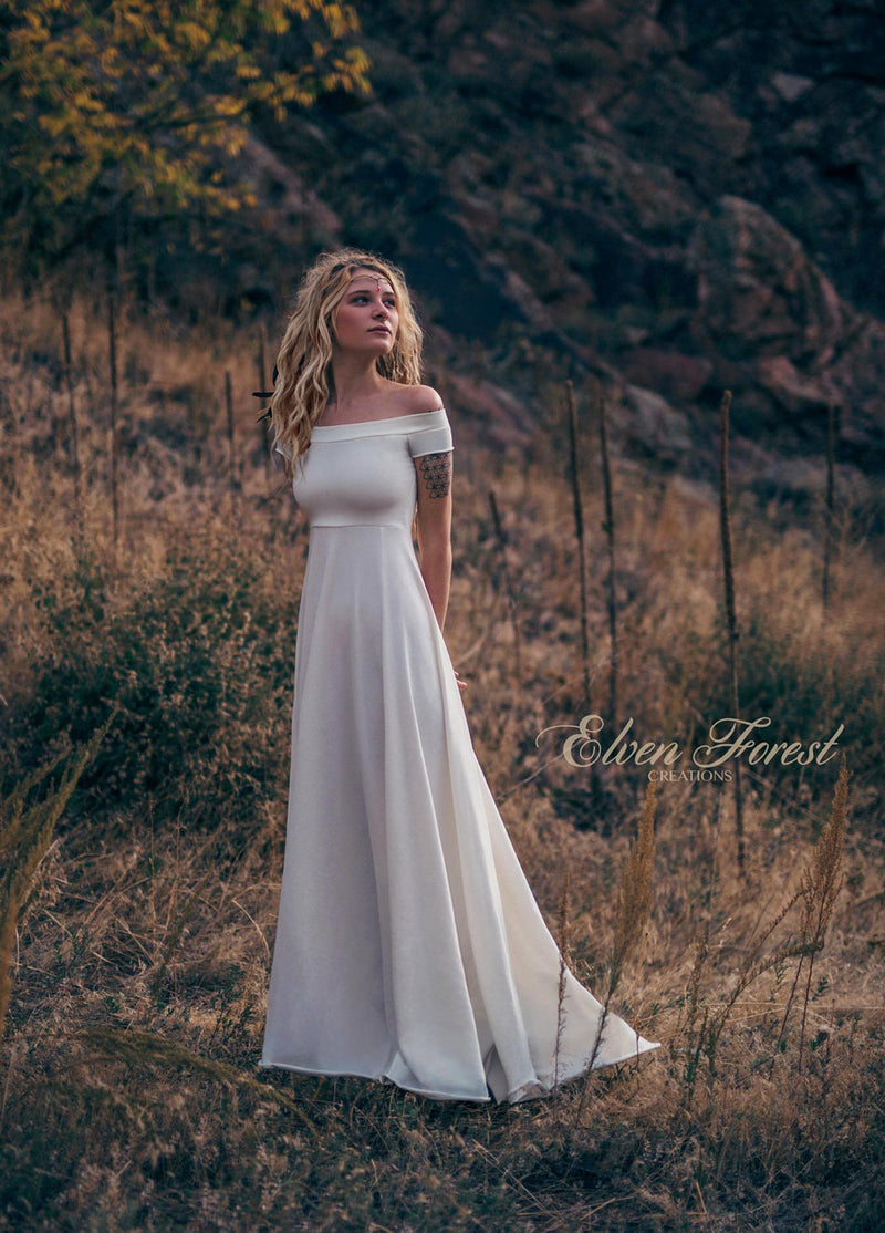 PREMADE Collection: Simply Bohemian Wedding Dress