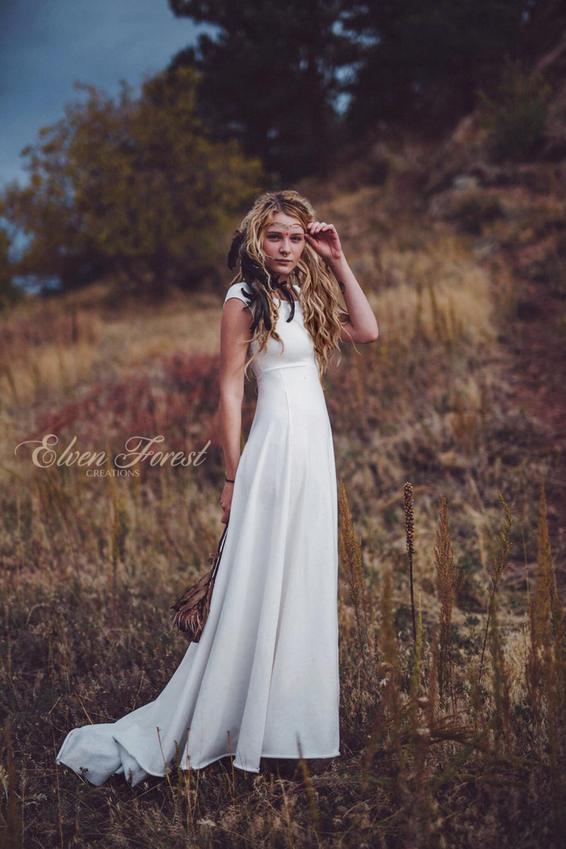 Simply Bohemian Wedding Dress