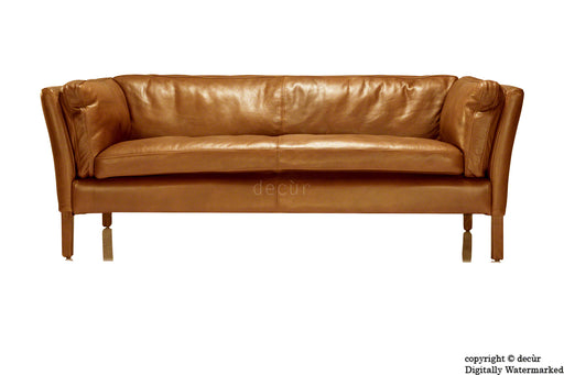 Savoy Leather Sofa - Tan