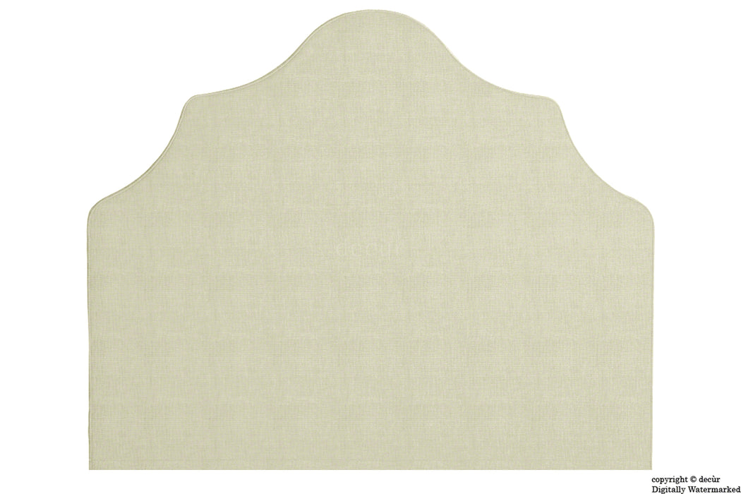 Elizabeth Wall Mounted Tall Headboard - Cream