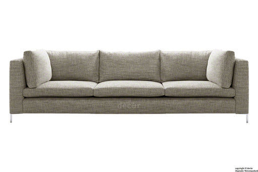Olivia Linen Sofa - Fudge