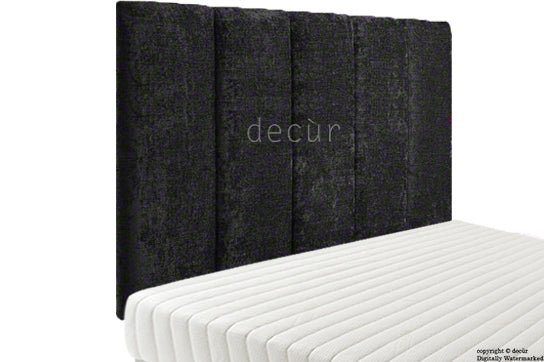 Abi High Headboard - Black