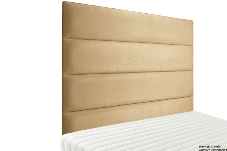 Boston Velvet Headboard - Parchment