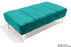Abi Footstool - Teal with Optional Storage