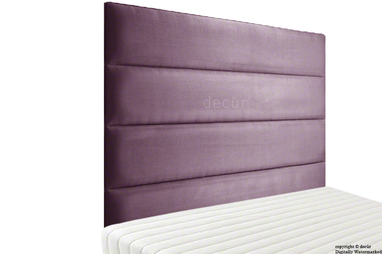 Boston Velvet Headboard - Lavender