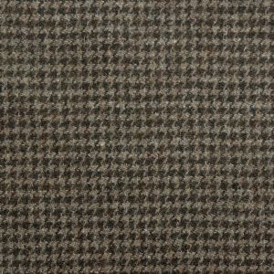 Harris Tweed Houndstooth Fabric - Peatland