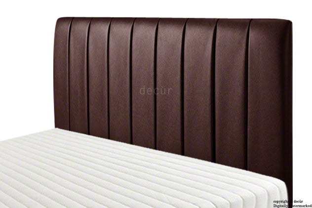 Columbia Faux Leather Headboard - Brown