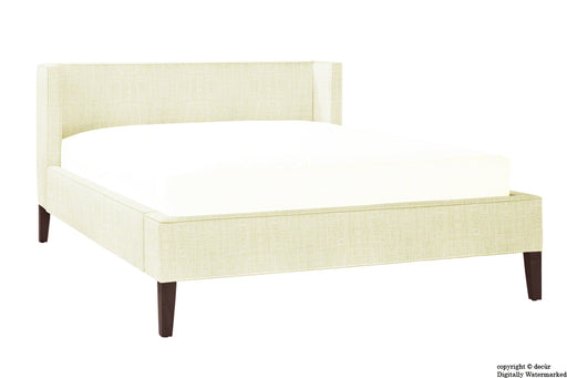 Banbury Linen Upholstered Bed - Cream