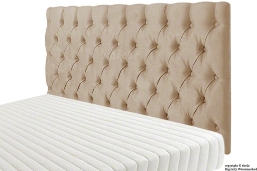 Tiffany Harrogate Buttoned Faux Suede Headboard