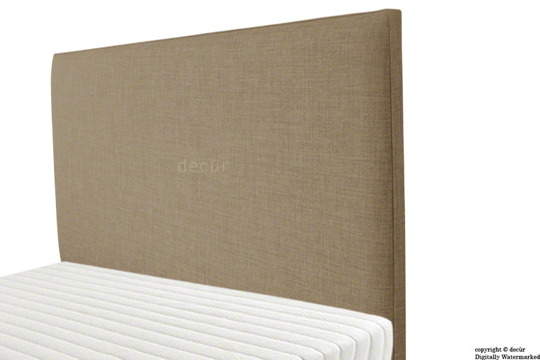 Faye Fabric Headboard - Fudge