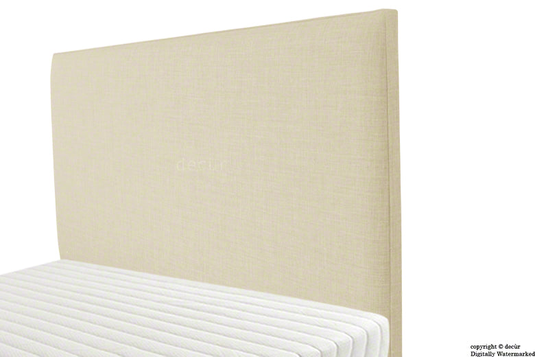 Faye Fabric Headboard - Cream