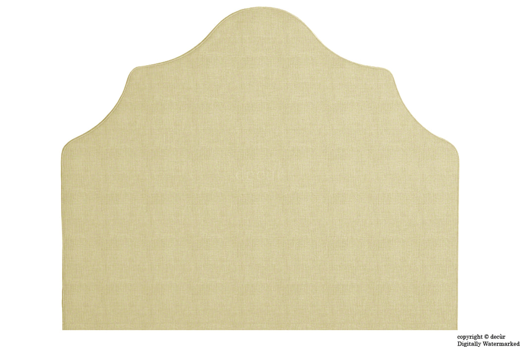 Elizabeth Wall Mounted Tall Headboard - Pearl