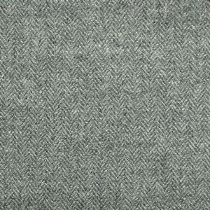 Harris Tweed Herringbone Fabric - Slate Grey