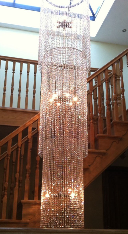 Kensington Chandelier - For A Grand Staircase, Foyer, Landing, Lobby or Stairwell - 3 Meter