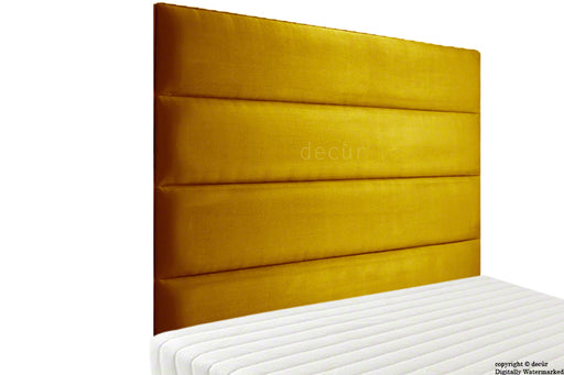 Boston Velvet Headboard - Gold