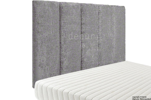 Abi High Headboard - Silver Grey