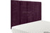 Abi High Headboard - Aubergine