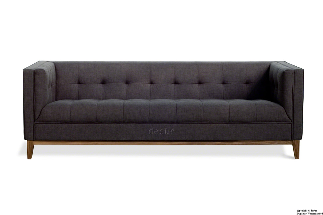 The Fifty Nine Linen Sofa - Charcoal