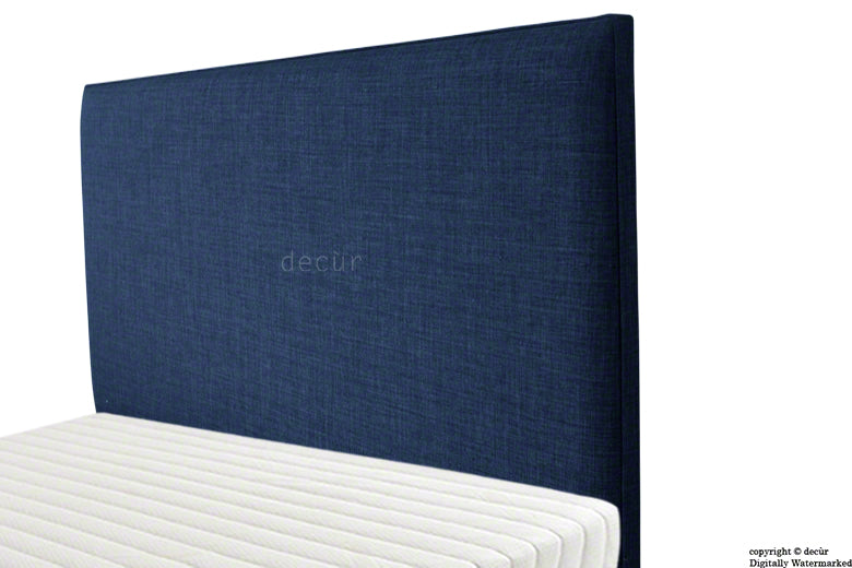 Faye Fabric Headboard - Midnight
