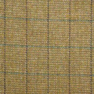 Harris Tweed Huntsman Check Fabric - Winter Wheat
