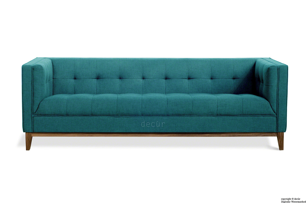 The Fifty Nine Linen Sofa - Teal